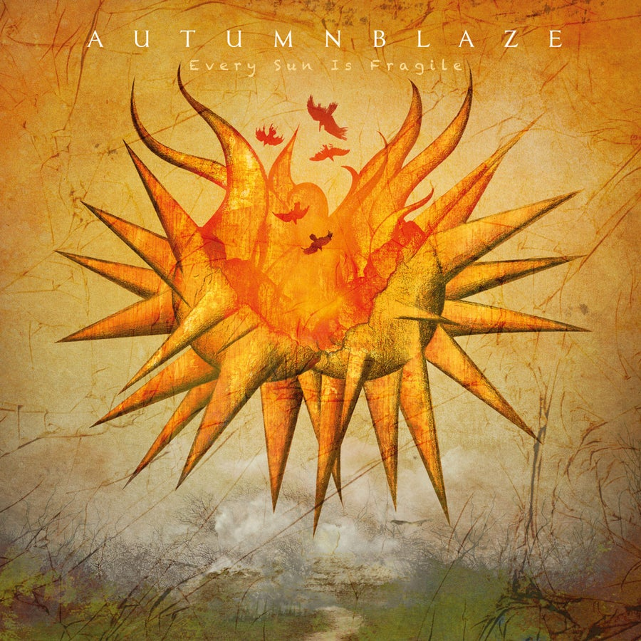 "Image of AUTUMNBLAZE ""Every Sun Is Fragile"" Digipak CD"