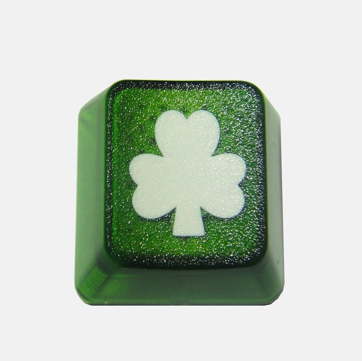 Image of Translucent Shamrock Keycap
