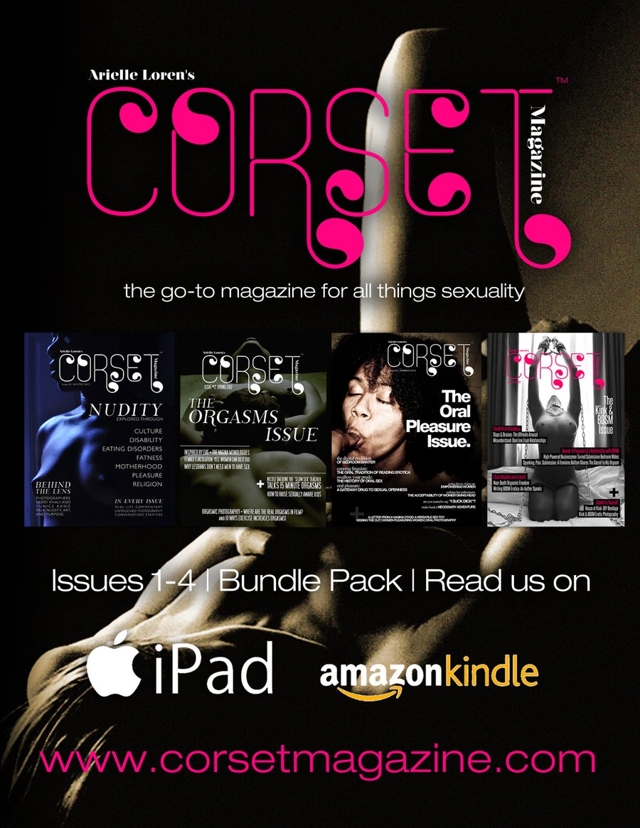 Image of Corset Magazine, 4-Issue Bundle Pack, Issues 1-4 (Digital)