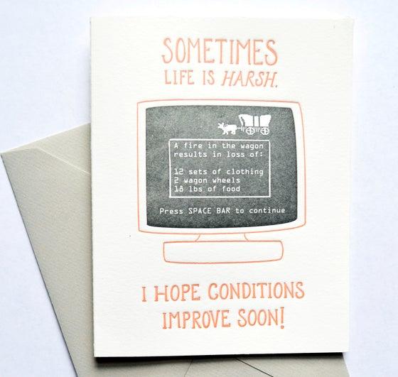 Image of OREGON TRAIL card