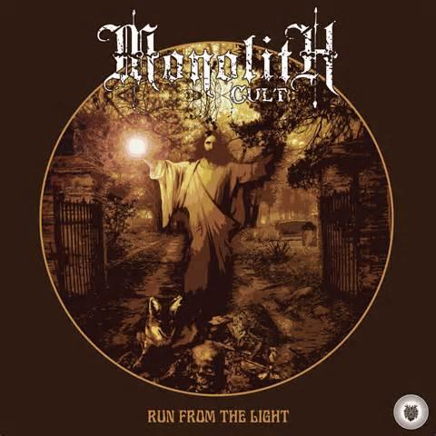 Image of Monolith Cult – Run from the Light (white Vinyl)