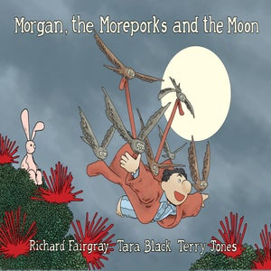 Image of Morgan, the Moreporks and the Moon