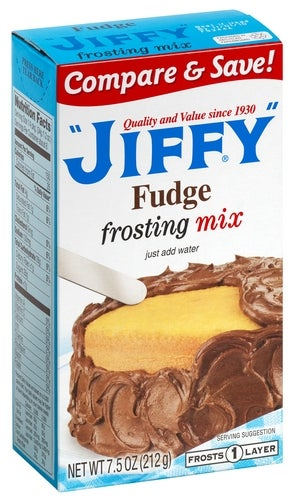 Jiffy Fudge Frosting Mix Box Of 4 Greenshoppingmarket