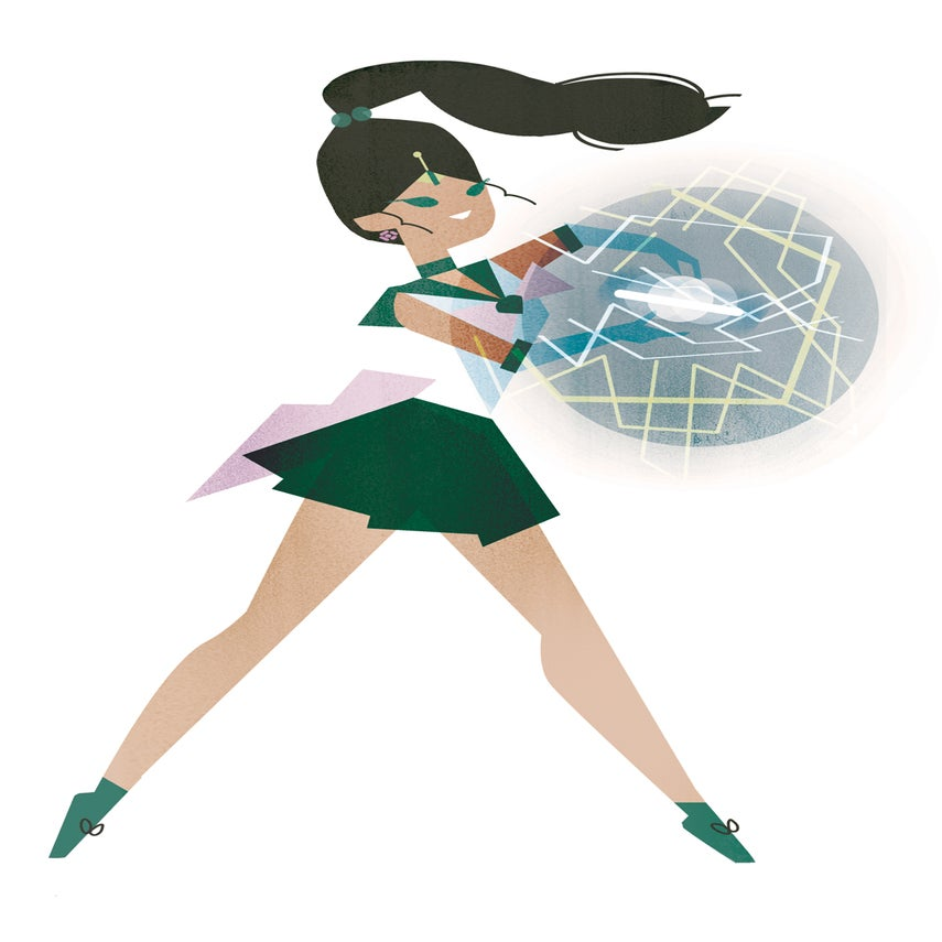 Image of Sailor Jupiter