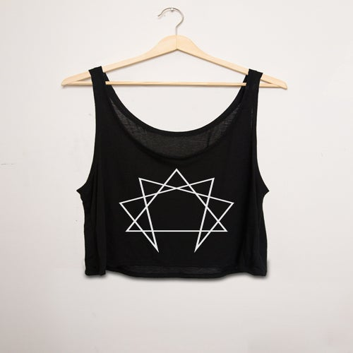 Image of Enneagram Cropped Vest
