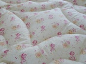 Image of Sweet Briar Rose & Pink or Cream Eiderdown
