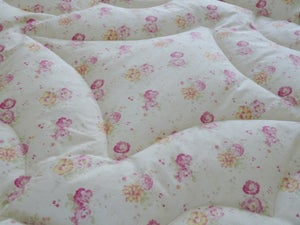 Image of Sweet Briar Rose & Pink or Cream Eiderdown