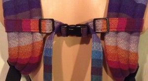 Image of Custom 1in Dual Adjustable Fabric/Wrap Chest Strap