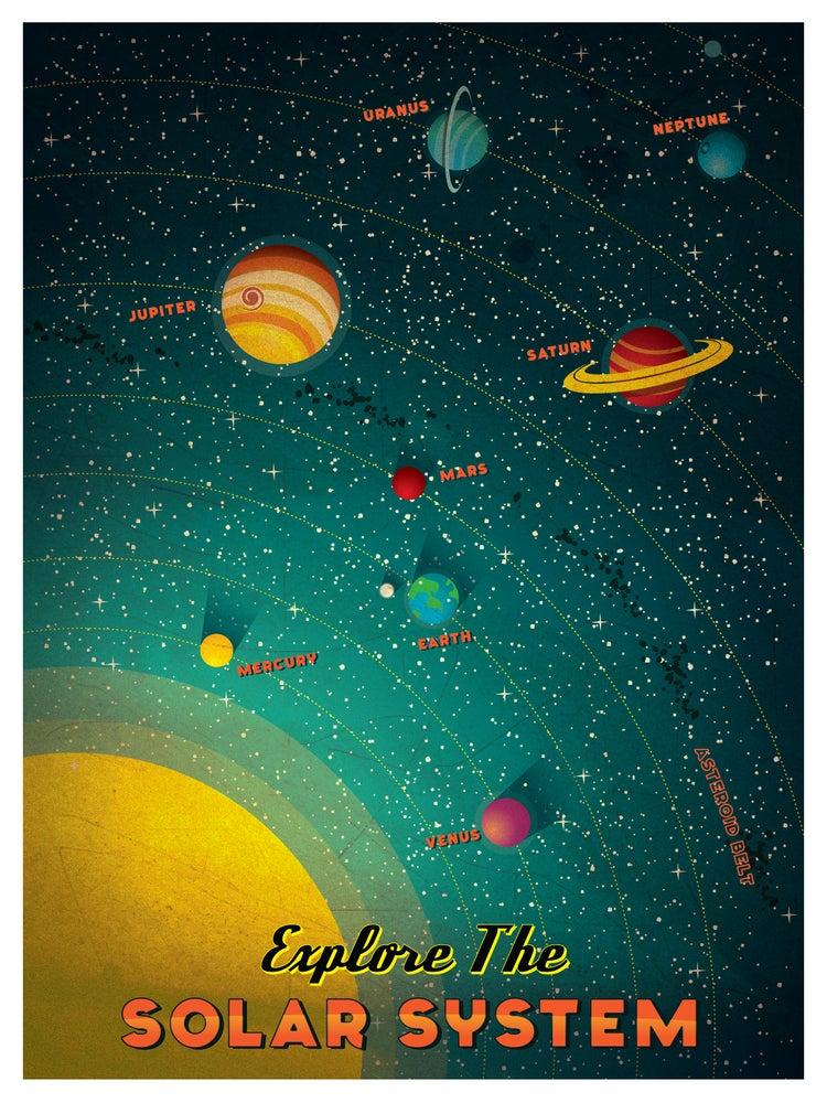 Image of Vintage Solar System