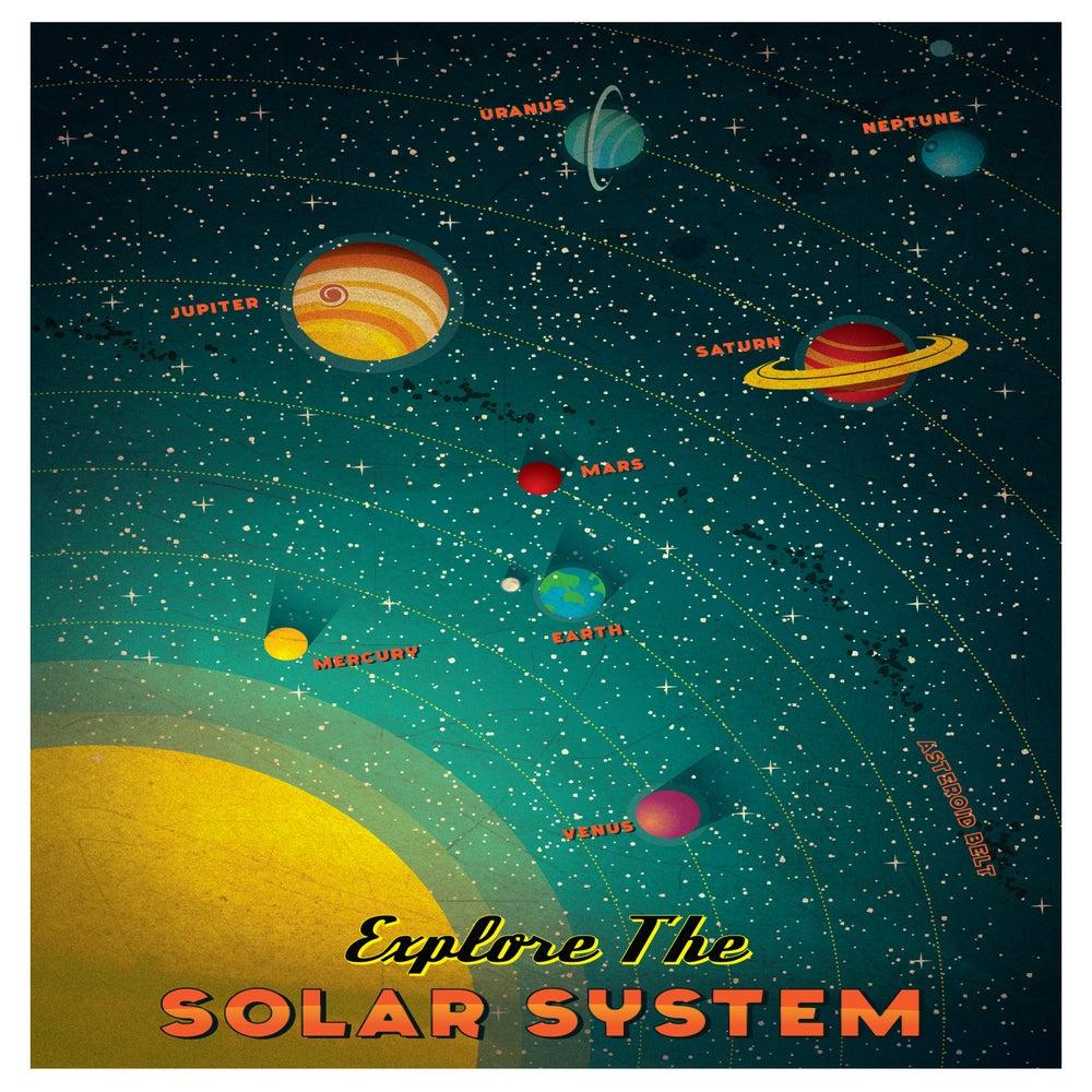 solar system poster - photo #36