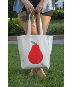Image of 'TO MARKET' TOTE BAG -BY- Karolin Schnoor