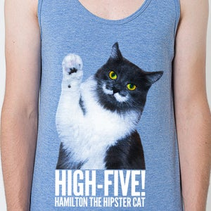 Image of High-Five Hammy! Unisex Tank