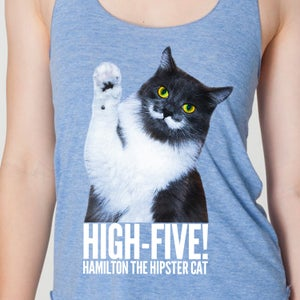 Image of High-Five Hammy! Womens Tank