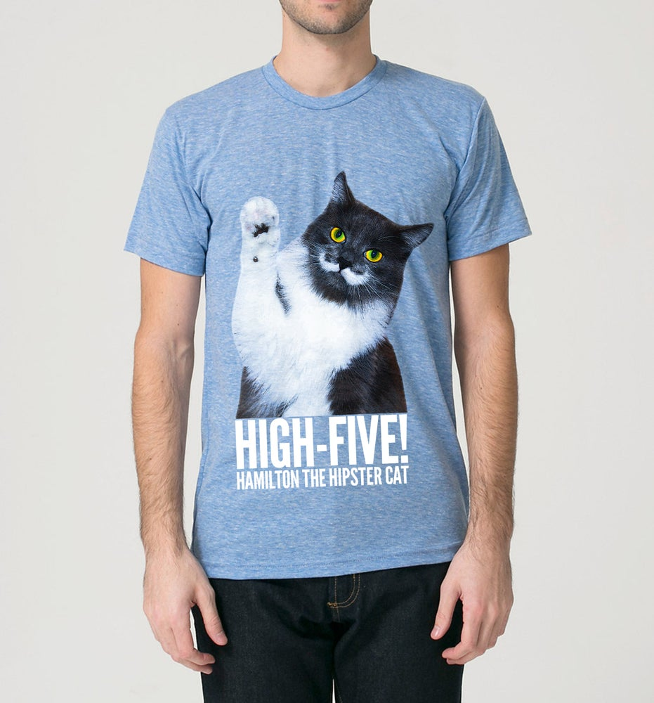 Image of High-Five Hammy! Men's Tee