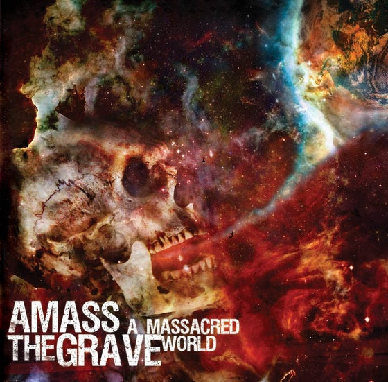 Image of AMASS THE GRAVE -STICKERS-