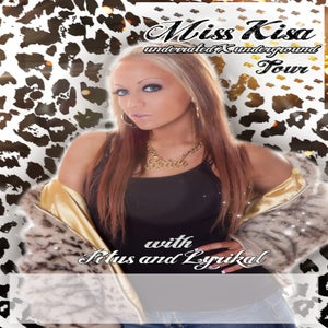 "Image of Miss Kisa ""Underrated Underground"" Tour Poster"