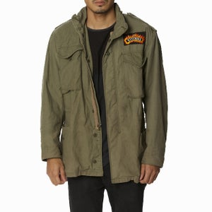 Image of FLAME PATCH VINTAGE AMERICAN SURPLUS JACKET