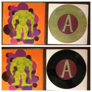 "Image of CHARMS - ""Ladybug b/w Father Winter"" - 7"" plus Digital Download"