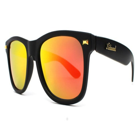 Image of MATTE BLACK SUNSET FORT KNOCKS (POLARIZED)