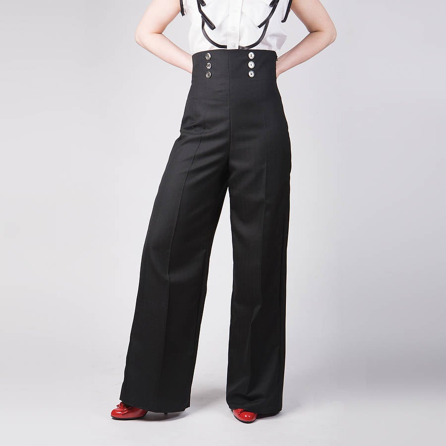 Image of High Waisted Trousers