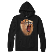 "Image of ""Scream"" Men's Hoodie - Black"