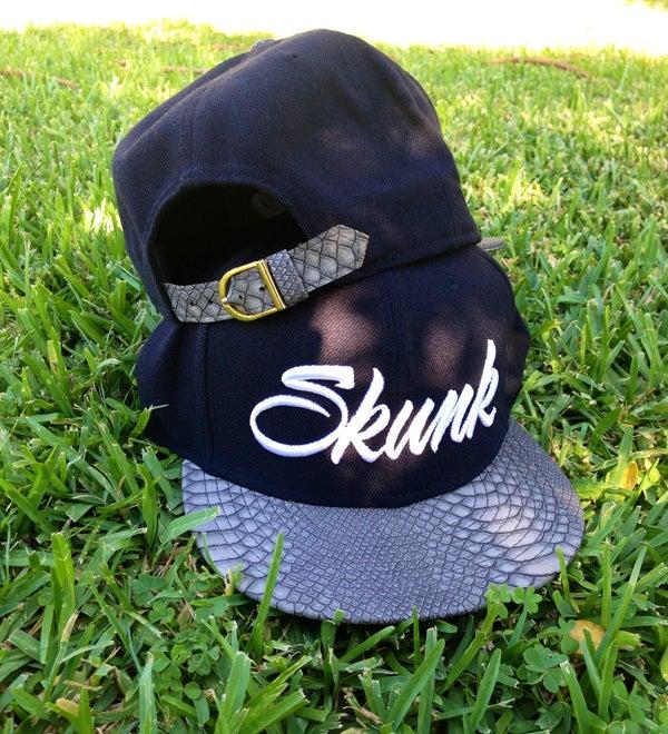 Image of Python Snake Strap Back Hat