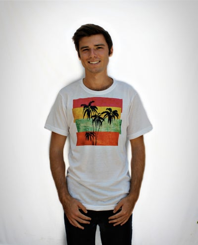Image of Palm Paradise Tee/Tank