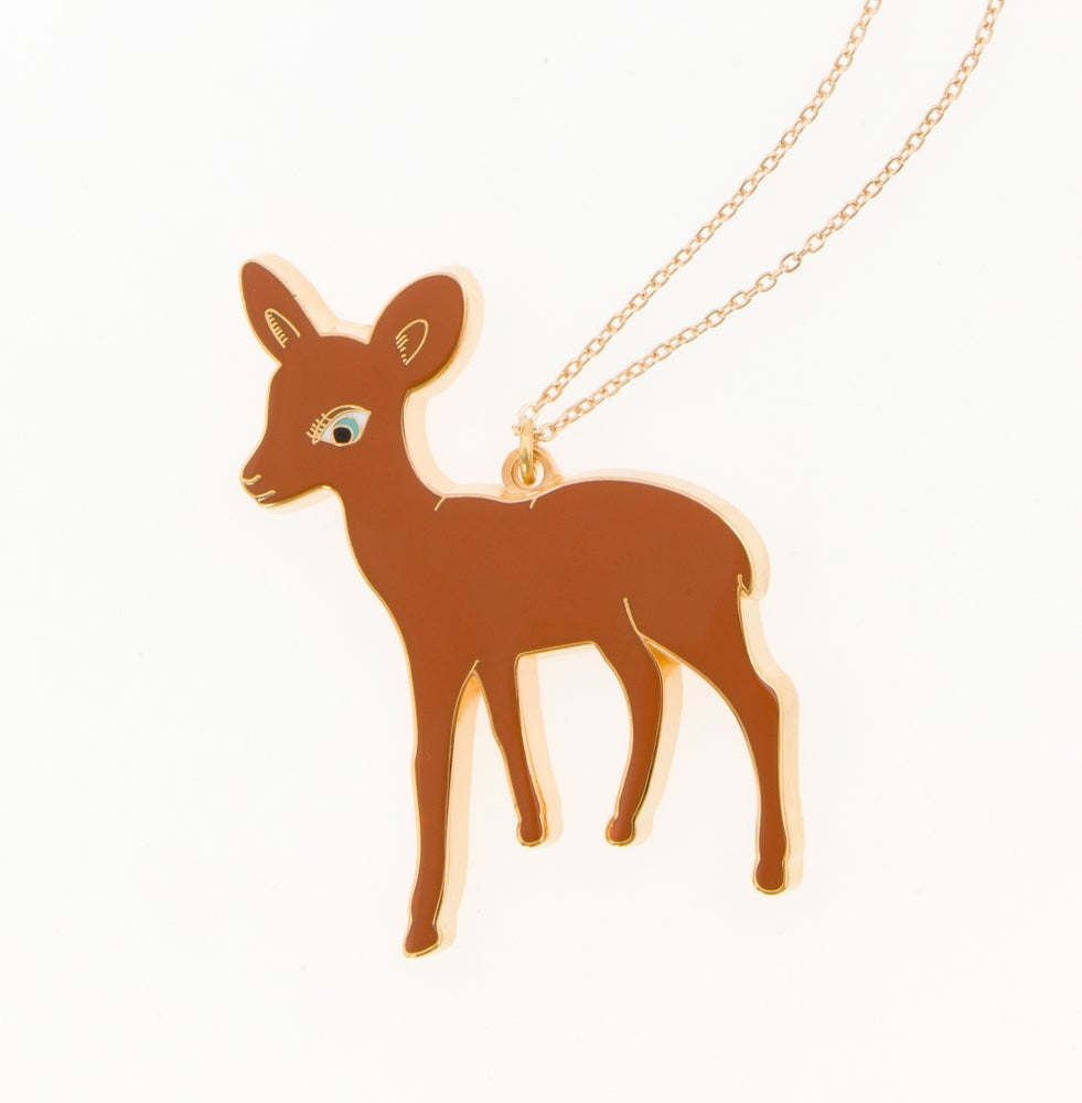 Image of 50% reduced! Big Bambi Necklace