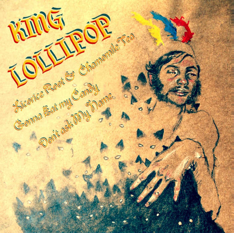"Image of King Lollipop ""Gonna Eat My Candy"" 7"" OUT NOW!"