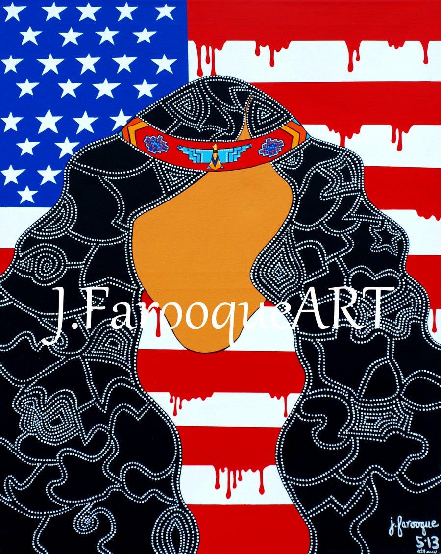 "Image of ""Patriot"" Poster Print"