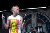 Image of Bert Mccracken of The Used @ Vans Warped Tour 2013 (1 - 11x17)