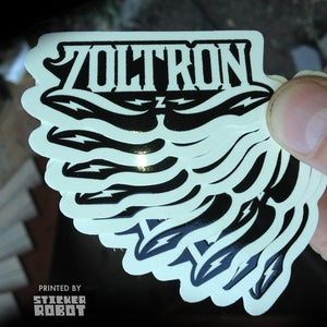 Image of New Zoltron Logo Stickers (20)