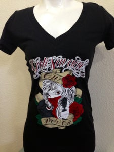 Image of Ladies - Ojo Por Ojo Vneck