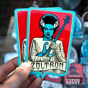 Image of Bride of Zoltron Stickers (5)