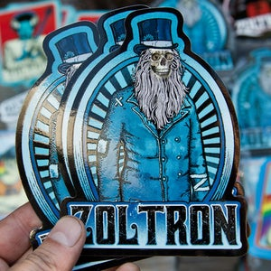 "Image of Zoltron ""Black Keys"" Stickers (5)"
