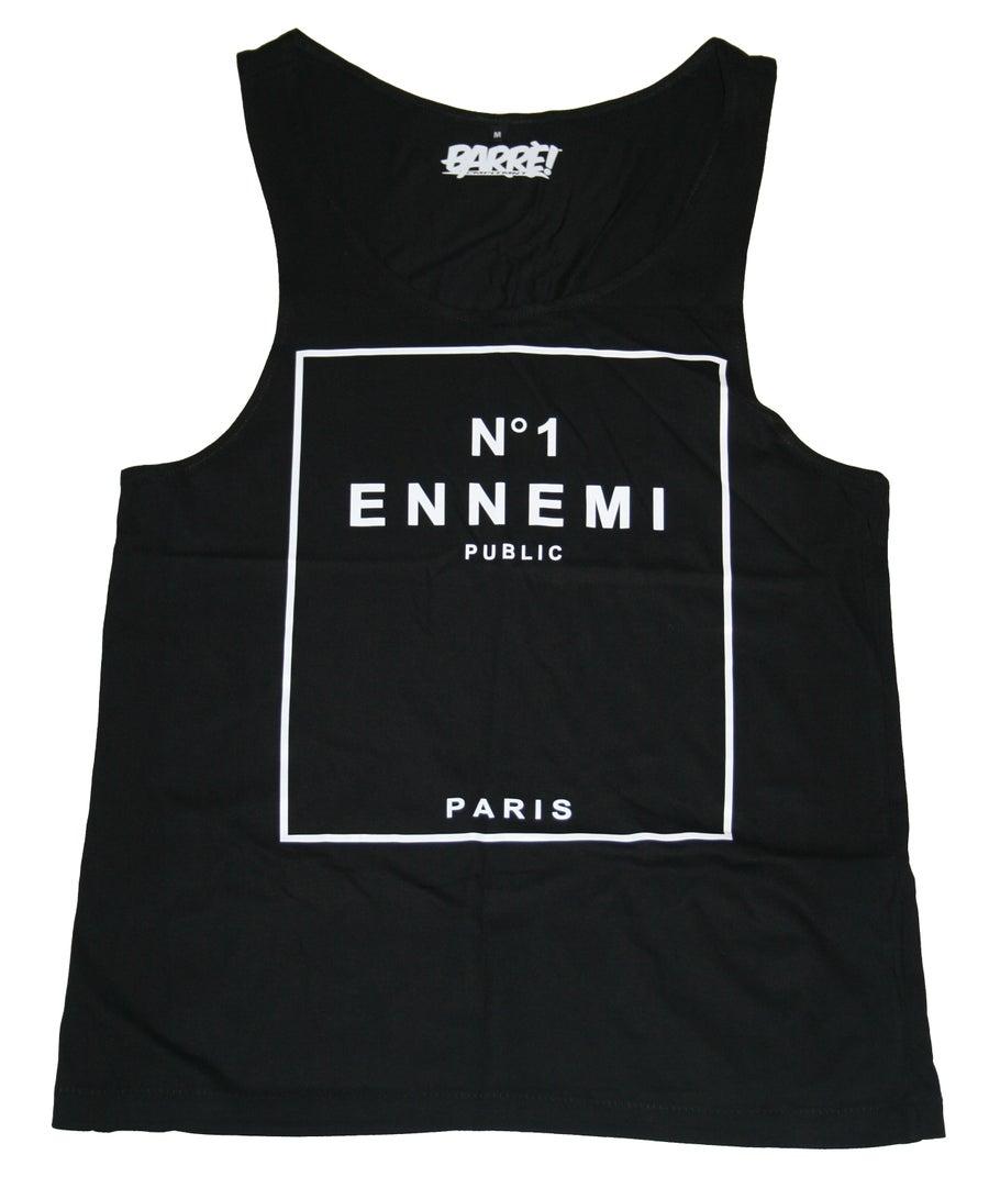 Image of ENNEMI PUBLIC N°1 TANK TOP BLK