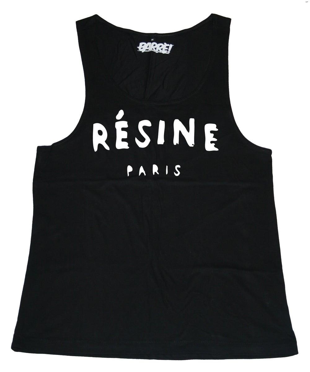 Image of RÉSINE TANK TOP BLK