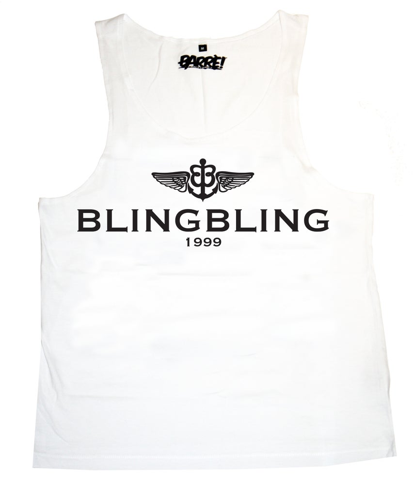 Image of BLINGBLING TANK TOP WHT