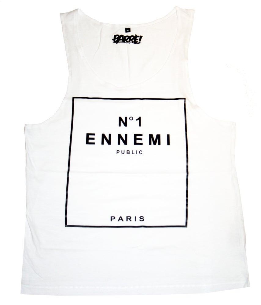 Image of ENNEMI PUBLIC N°1 TANK TOP WHT