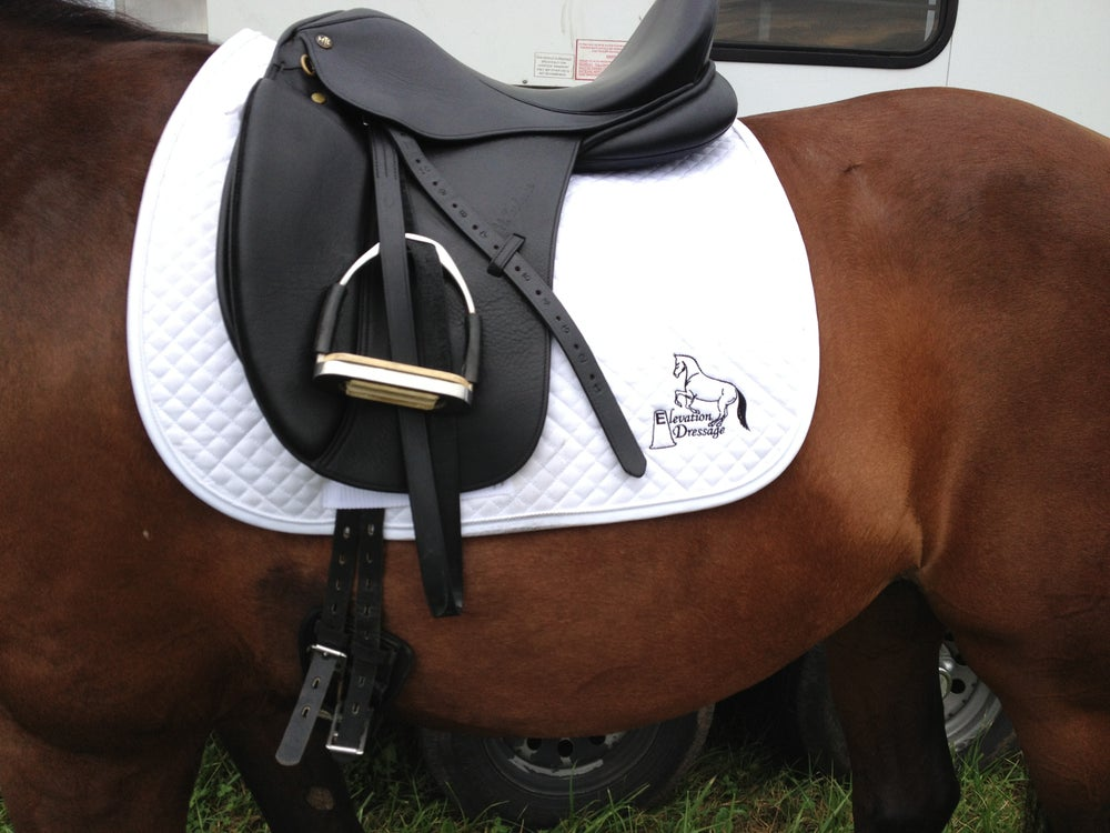 Image of Elevation Dressage Saddle Pad