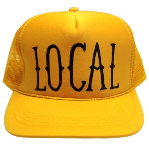 Image of Local Hat Gold/Black