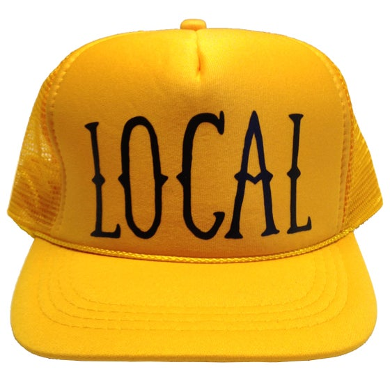 Image of Kids Local Gold Trucker Hat