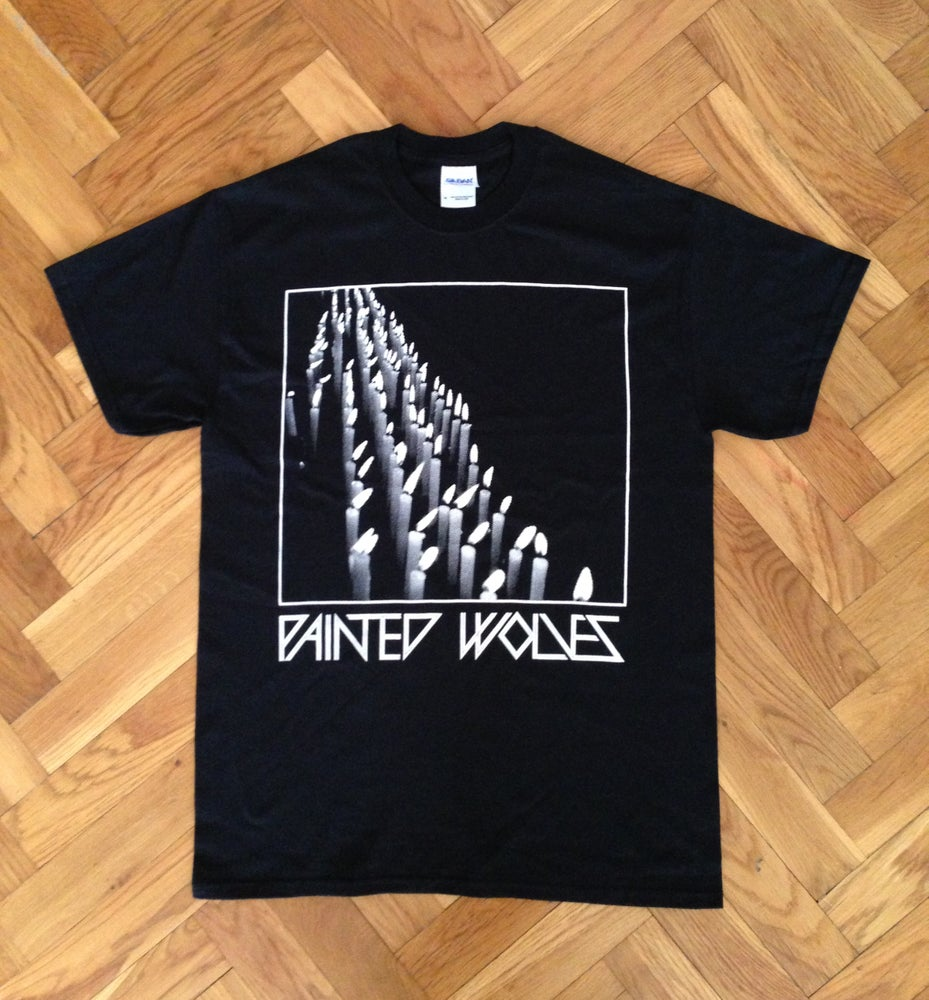 Image of CANDLES - Black - T-shirt