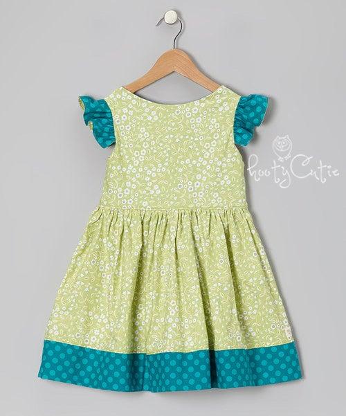 Image of Green Leaf Prairie Dress