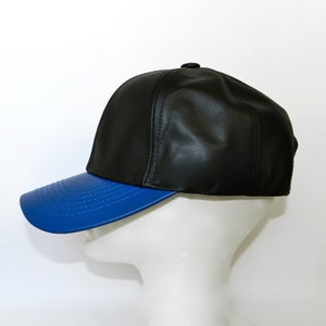 Image of 2 Tone All Leather Cap
