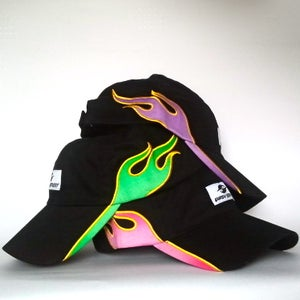 Image of Neon Flame Cap - Limited Edition