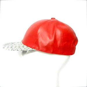 Image of Deluxe City Cap - Red & Python