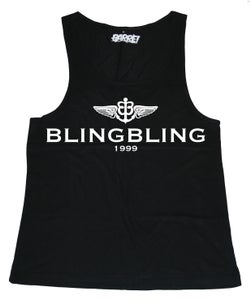 Image of BLINGBLING TOP TANK GLOW IN THE DARK