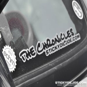 Image of The Chronicles Decal (Original Version)