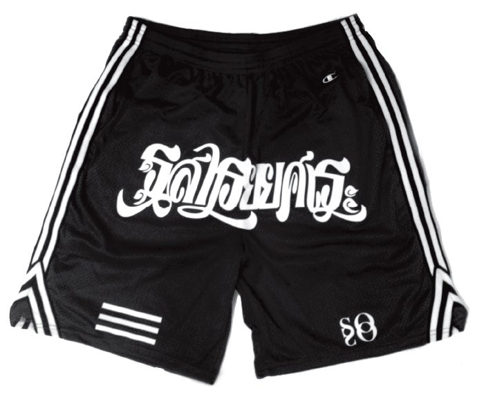 Image of Muay Thai Trunks : Black